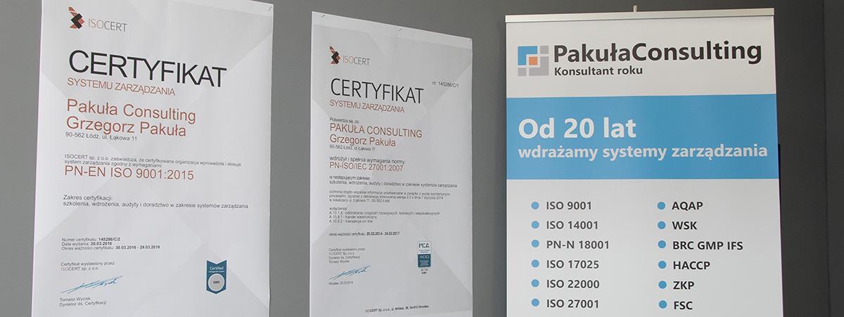 certyfikacja ISO 9001 - 2015